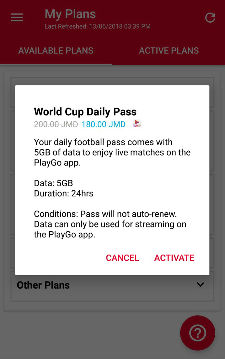 World Cup Test Page