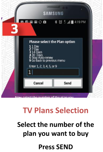 How do I purchase a TV Plan for my Digicel Playbox? – Mobile