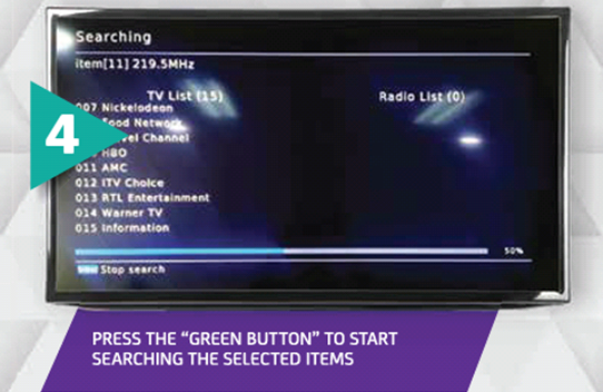 How to do Channel Search on my Digicel Play Box? – Mobile - PNG