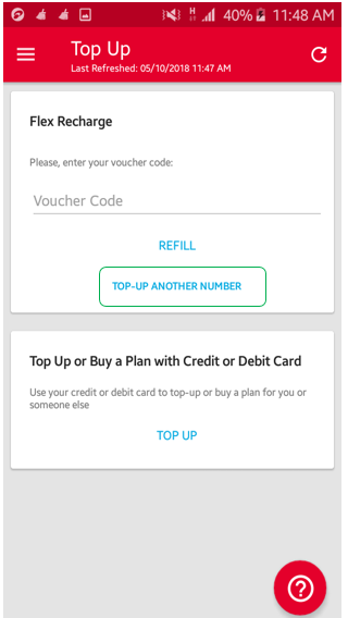 How to do a voucher recharge/top up via MyDigicel App? – Mobile - PNG