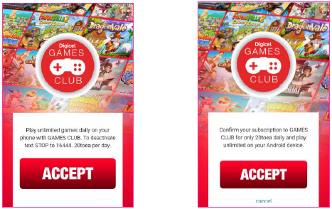 Then You Will Be Prompted To Press The Accept Button Again Confirm Subscription
