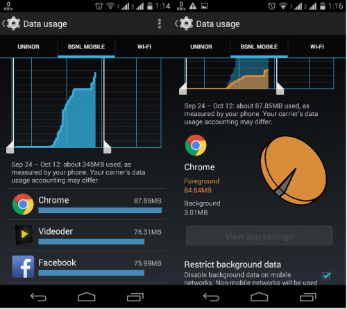 How to stop background apps from using your data – Mobile - PNG