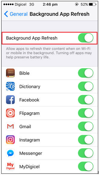 How to stop background apps from using your data – Mobile