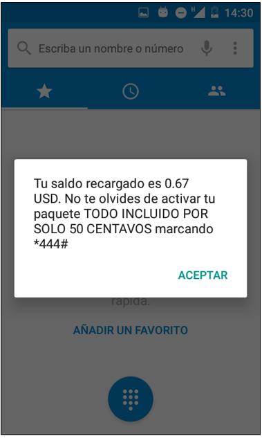 266d66e0831 Cómo consultar mi saldo o el de mis paquetes? – Mobile - El Salvador