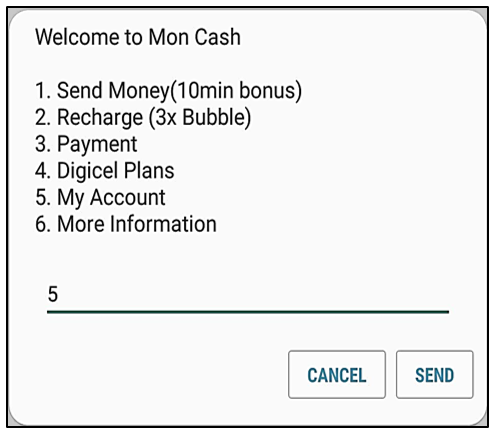 How to reset Mon Cash account PIN – Mobile - Haiti English