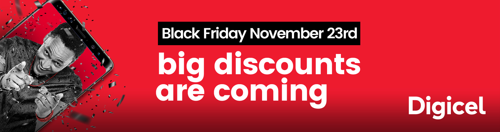Digicel Cayman Black Friday Sale